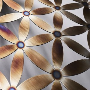 Flower of Life Stainless Steel Heat Treatment