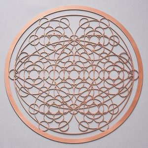 Universal DNA Copper Resonance Plate