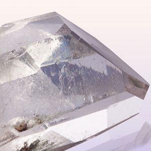Clear Quartz Crystal used in resonance harmonics crystal infused paint