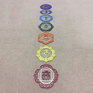 Capture the seven chakra steel plates. Together they are powerful tools to help unblock and channel each individual.