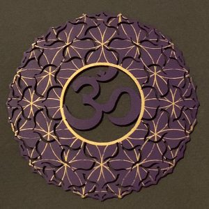 The crown steel chakra plate to be used on its own or as part of the seven chakra plate collection. These tools can be used for meditation, healing and self alignment.